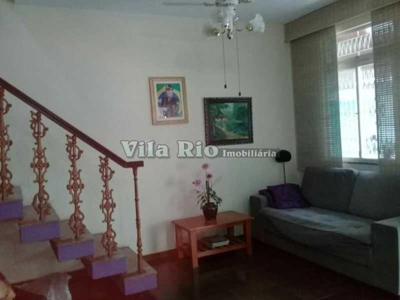 SALA 1. - Casa em Condomínio 4 quartos à venda Vista Alegre, Rio de Janeiro - R$ 750.000 - VCN40009 - 1