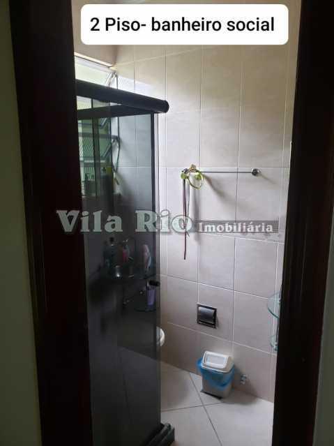BANHEIRO 4. - Casa em Condomínio 3 quartos à venda Vista Alegre, Rio de Janeiro - R$ 850.000 - VCN30013 - 12