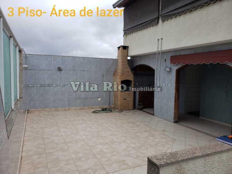 AREA 1. - Casa em Condomínio 3 quartos à venda Vista Alegre, Rio de Janeiro - R$ 850.000 - VCN30013 - 16