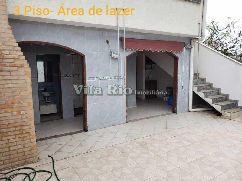 AREA 2. - Casa em Condomínio 3 quartos à venda Vista Alegre, Rio de Janeiro - R$ 850.000 - VCN30013 - 17