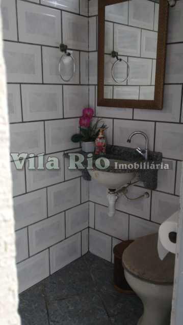 Banheiro de serviço - Casa 2 quartos à venda Vista Alegre, Rio de Janeiro - R$ 950.000 - VCA20067 - 16