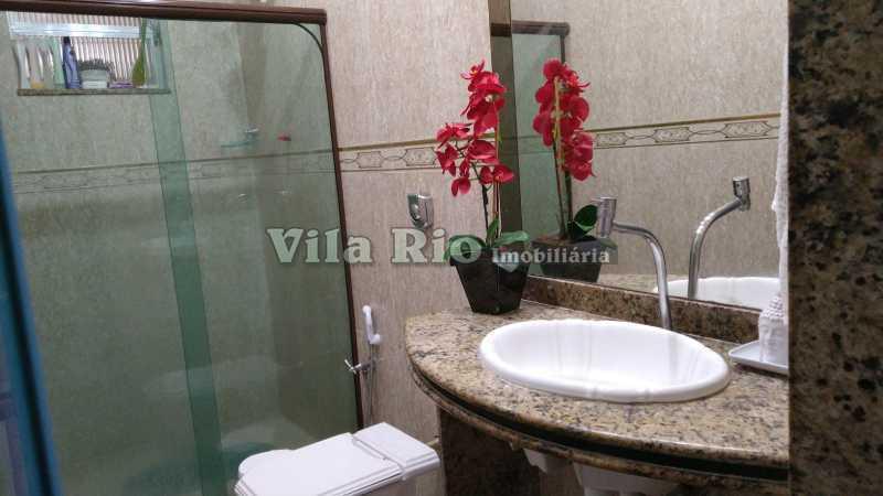 Banheiro social.1 - Casa 2 quartos à venda Vista Alegre, Rio de Janeiro - R$ 950.000 - VCA20067 - 17
