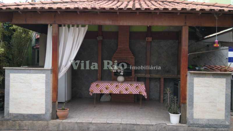 Churrasqueira - Casa 2 quartos à venda Vista Alegre, Rio de Janeiro - R$ 950.000 - VCA20067 - 29