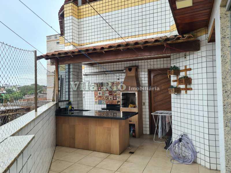 CHURRASQUEIRA - Cobertura 3 quartos à venda Vila da Penha, Rio de Janeiro - R$ 699.000 - VCO30019 - 3