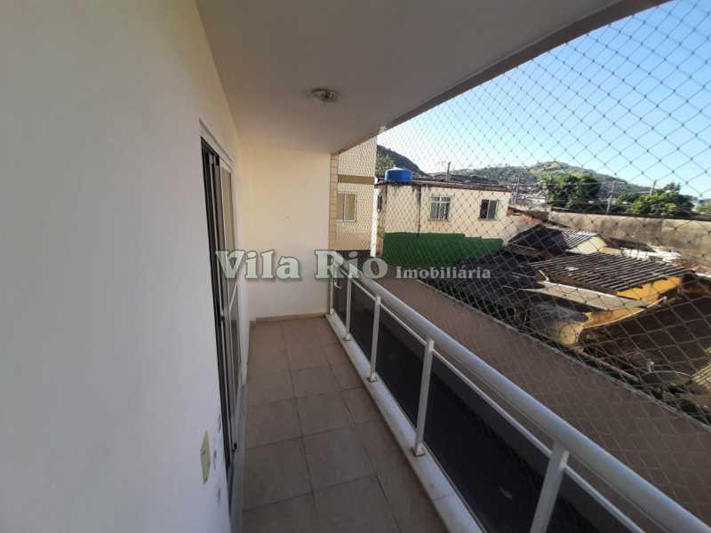 VARANDA. - Apartamento 2 quartos à venda Cascadura, Rio de Janeiro - R$ 200.000 - VAP20706 - 5