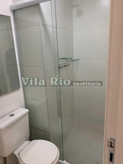 BANHEIRO 1. - Apartamento 2 quartos à venda Praça Seca, Rio de Janeiro - R$ 280.000 - VAP20712 - 11