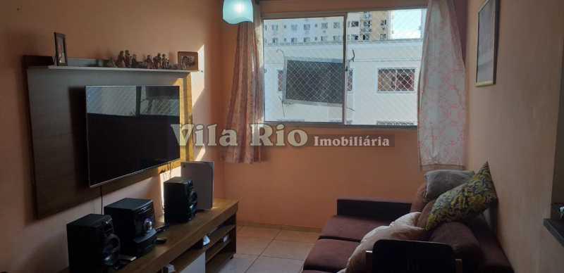 SALA 1. - Apartamento 2 quartos à venda Rocha Miranda, Rio de Janeiro - R$ 160.000 - VAP20715 - 1
