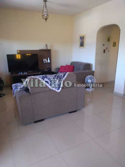 SALA 1. - Casa 3 quartos à venda Vista Alegre, Rio de Janeiro - R$ 550.000 - VCA30078 - 1