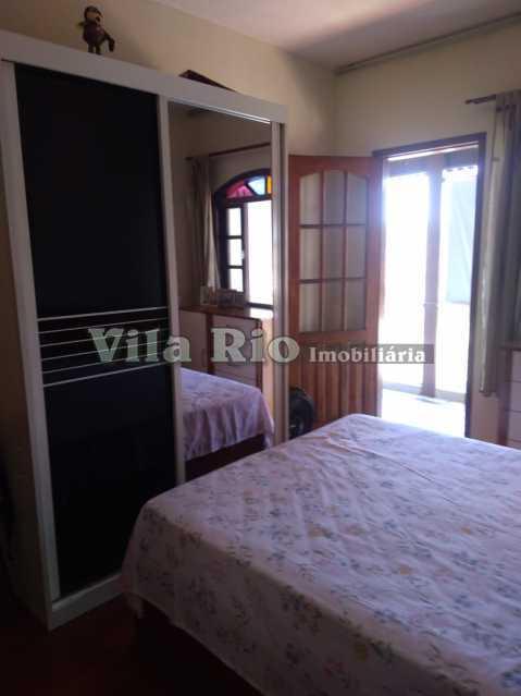 QUARTO 2. - Casa 3 quartos à venda Vista Alegre, Rio de Janeiro - R$ 550.000 - VCA30078 - 8