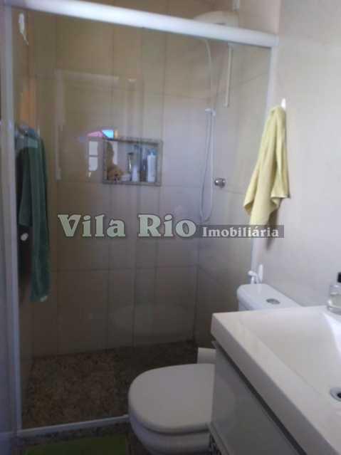 BANHEIRO 1. - Casa 3 quartos à venda Vista Alegre, Rio de Janeiro - R$ 550.000 - VCA30078 - 11