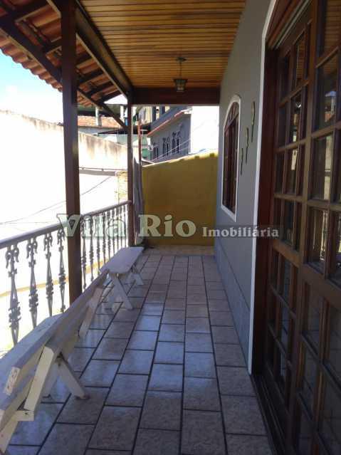 VARANDA 1. - Casa 3 quartos à venda Vista Alegre, Rio de Janeiro - R$ 550.000 - VCA30078 - 29