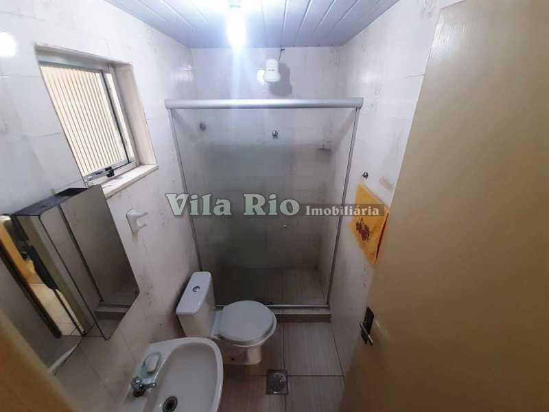 BANHEIRO 1. - Apartamento 2 quartos à venda Braz de Pina, Rio de Janeiro - R$ 190.000 - VAP20720 - 10
