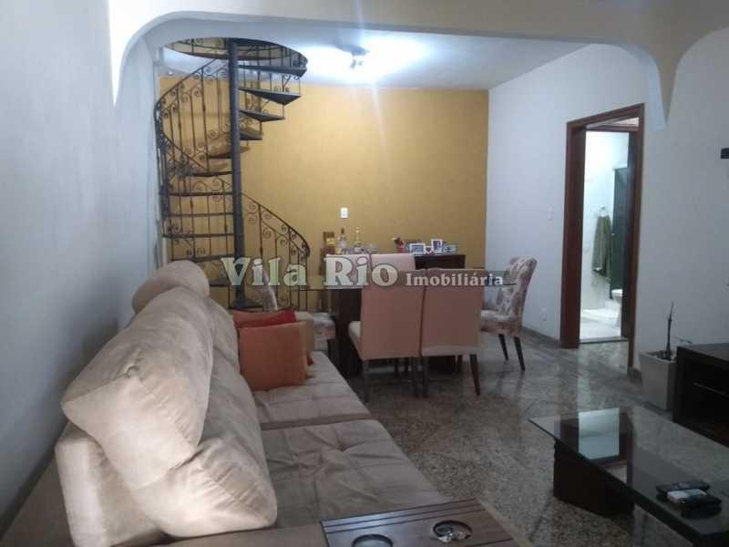 SALA 1 - Casa 4 quartos à venda Penha, Rio de Janeiro - R$ 780.000 - VCA40039 - 3