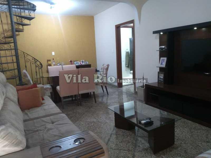 SALA 3 - Casa 4 quartos à venda Penha, Rio de Janeiro - R$ 780.000 - VCA40039 - 5