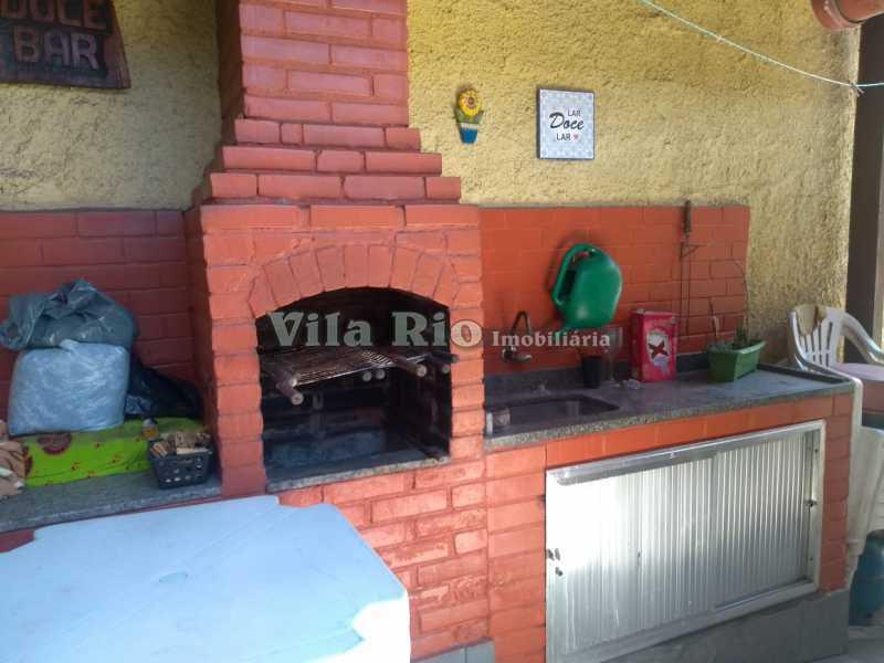 CHURRASQUEIRA - Casa 4 quartos à venda Penha, Rio de Janeiro - R$ 780.000 - VCA40039 - 23