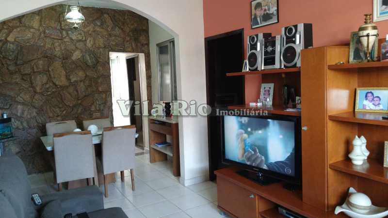 SALA 1. - Casa 3 quartos à venda Penha Circular, Rio de Janeiro - R$ 400.000 - VCA30080 - 1