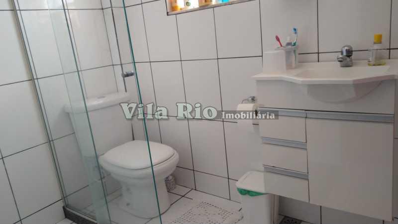 BANHEIRO 1. - Casa 3 quartos à venda Penha Circular, Rio de Janeiro - R$ 400.000 - VCA30080 - 11