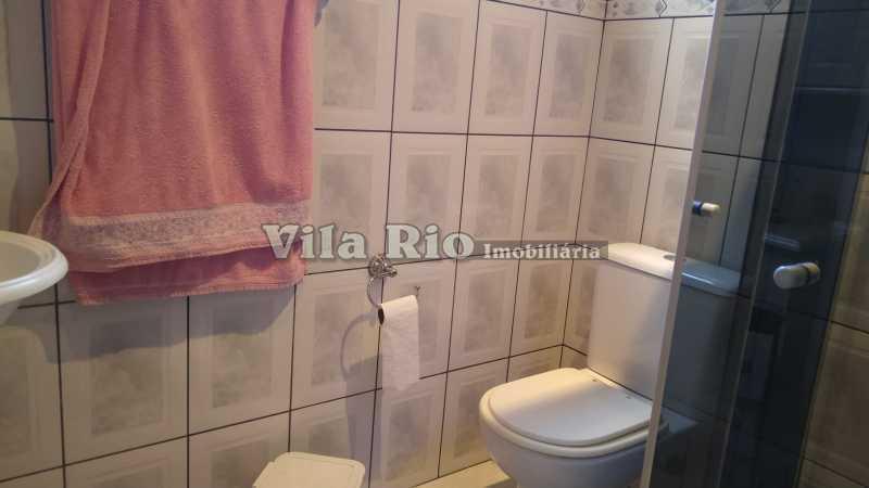 BANHEIRO 4. - Casa 3 quartos à venda Penha Circular, Rio de Janeiro - R$ 400.000 - VCA30080 - 14