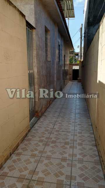 LATERAL. - Casa 3 quartos à venda Penha Circular, Rio de Janeiro - R$ 400.000 - VCA30080 - 25