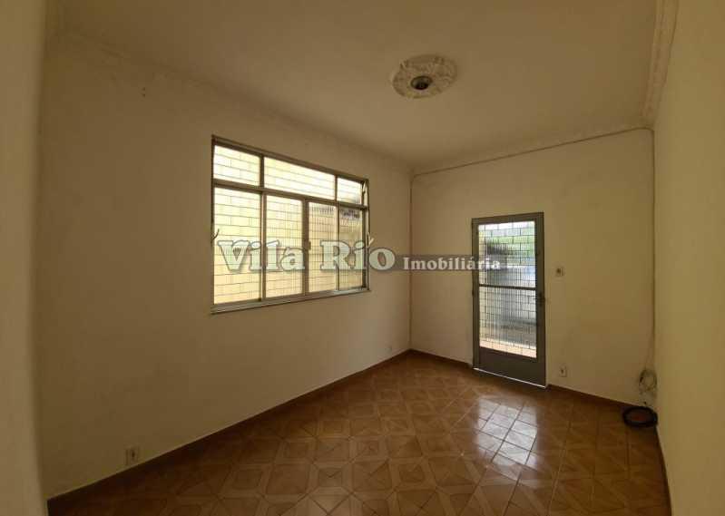 SALA 1. - Casa 2 quartos à venda Braz de Pina, Rio de Janeiro - R$ 550.000 - VCA20070 - 1