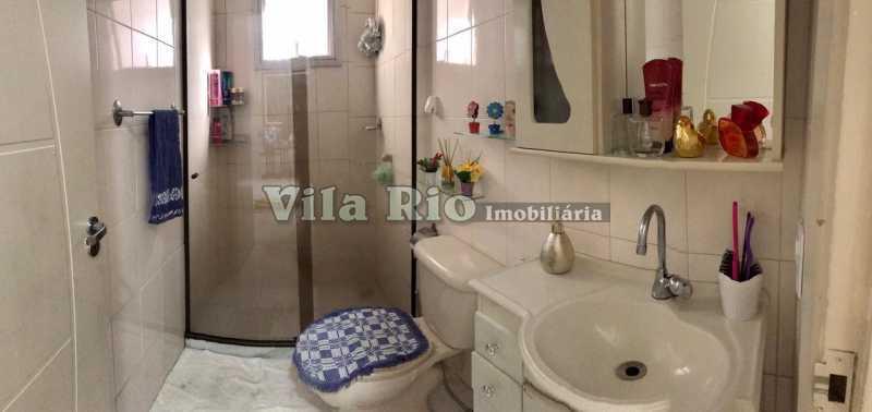 BANHEIRO. - Apartamento 2 quartos à venda Penha, Rio de Janeiro - R$ 290.000 - VAP20740 - 8
