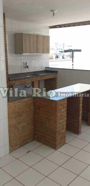 AREA CHURRASQUEIRA - Apartamento 2 quartos à venda Engenho da Rainha, Rio de Janeiro - R$ 215.000 - VAP20741 - 15