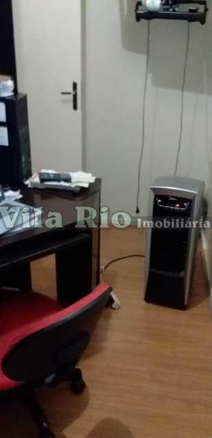 QUARTO 2 - Apartamento 2 quartos à venda Vaz Lobo, Rio de Janeiro - R$ 278.000 - VAP20745 - 5
