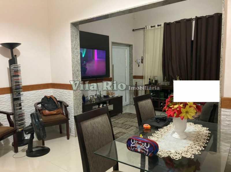 SALA 1 - Casa 3 quartos à venda Braz de Pina, Rio de Janeiro - R$ 740.000 - VCA30084 - 1