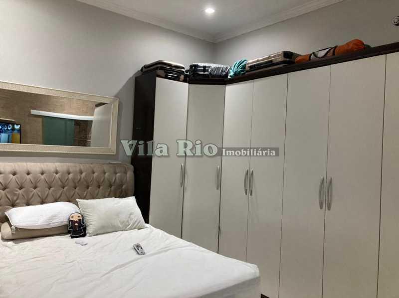 QUARTO 1 - Casa 3 quartos à venda Braz de Pina, Rio de Janeiro - R$ 740.000 - VCA30084 - 4