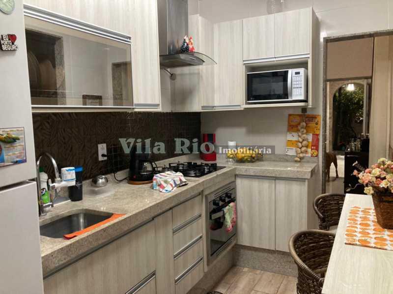COZINHA - Casa 3 quartos à venda Braz de Pina, Rio de Janeiro - R$ 740.000 - VCA30084 - 10