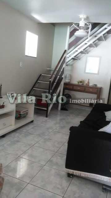 SALA 1. - Casa em Condomínio 3 quartos à venda Irajá, Rio de Janeiro - R$ 570.000 - VCN30015 - 1