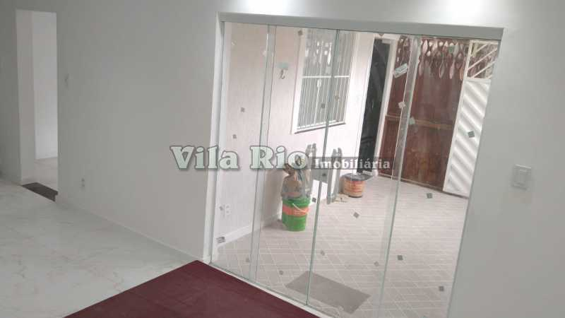 Salão 1. - Casa 3 quartos à venda Irajá, Rio de Janeiro - R$ 470.000 - VCA30085 - 1