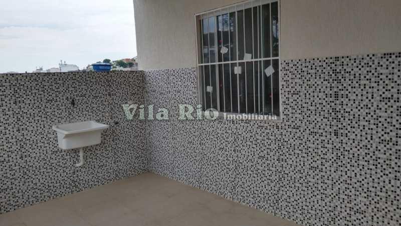 Área de serviço. - Casa 3 quartos à venda Irajá, Rio de Janeiro - R$ 470.000 - VCA30085 - 24