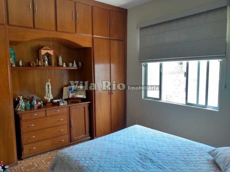 QUARTO 1. - Casa 3 quartos à venda Vista Alegre, Rio de Janeiro - R$ 960.000 - VCA30086 - 8