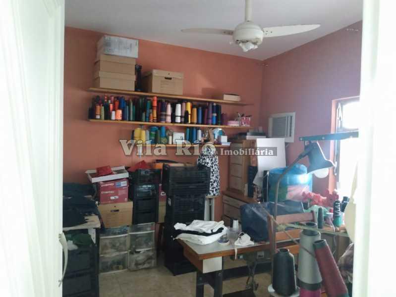 QUARTO 4. - Casa 3 quartos à venda Vista Alegre, Rio de Janeiro - R$ 960.000 - VCA30086 - 11