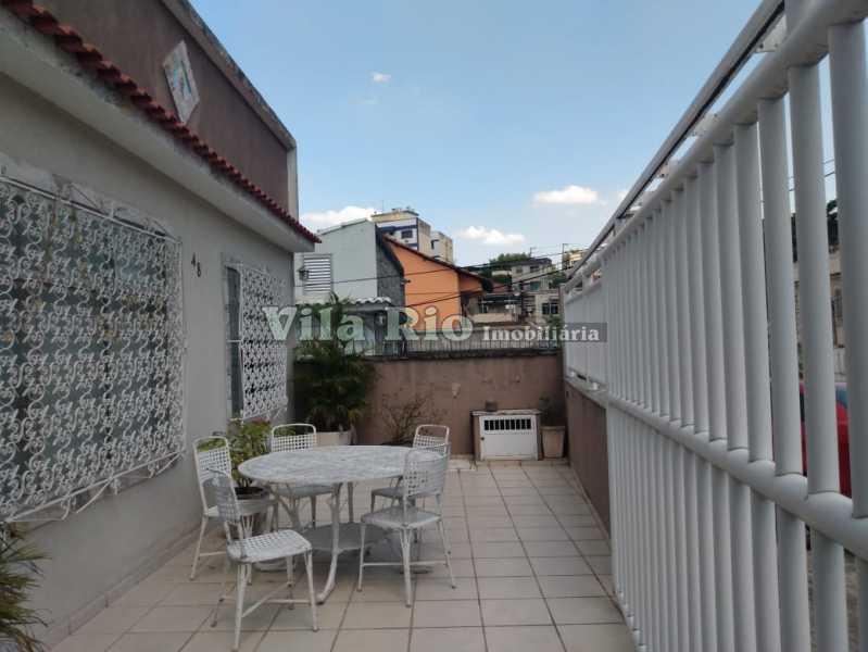 FRENTE. - Casa 3 quartos à venda Vista Alegre, Rio de Janeiro - R$ 960.000 - VCA30086 - 20