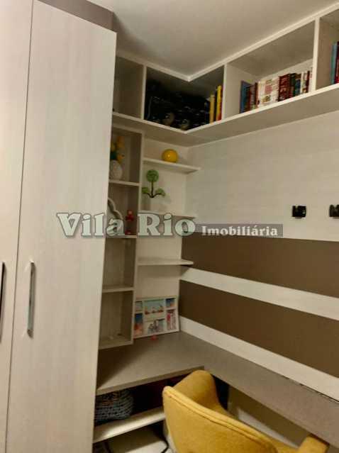 QUARTO 2. - Apartamento 2 quartos para alugar Irajá, Rio de Janeiro - R$ 1.300 - VAP20761 - 11