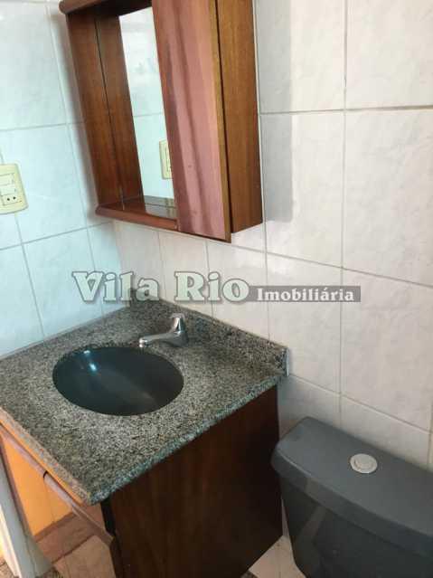 BANHEIRO 1. - Apartamento 2 quartos para alugar Vaz Lobo, Rio de Janeiro - R$ 800 - VAP20763 - 12