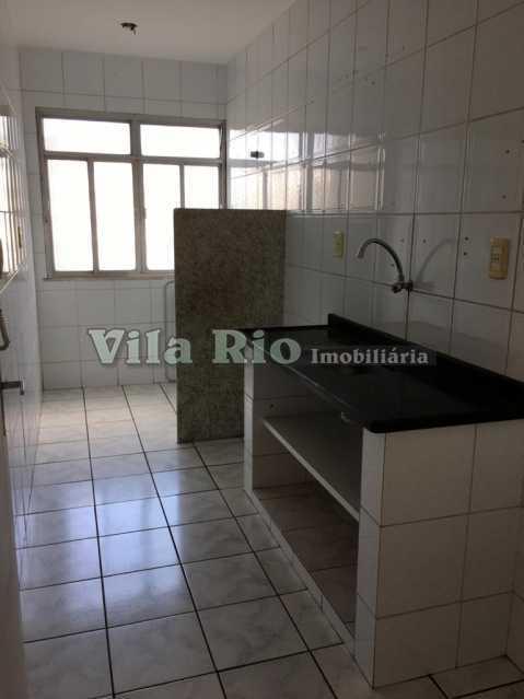 COZINHA 4. - Apartamento 2 quartos para alugar Vaz Lobo, Rio de Janeiro - R$ 800 - VAP20763 - 22