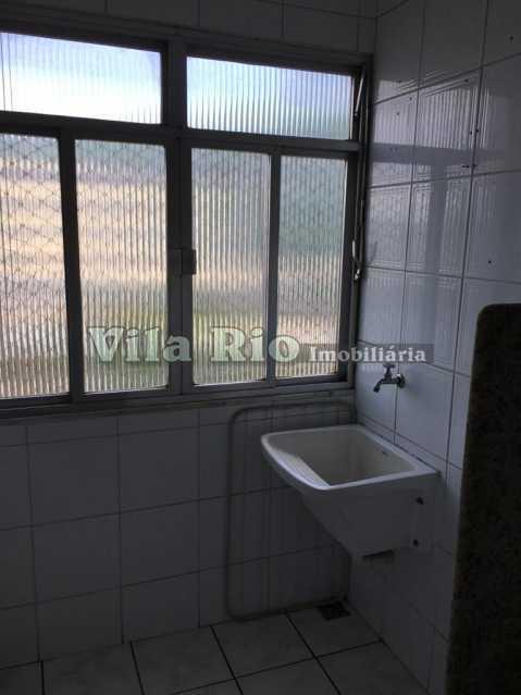 AREA. - Apartamento 2 quartos para alugar Vaz Lobo, Rio de Janeiro - R$ 800 - VAP20763 - 23
