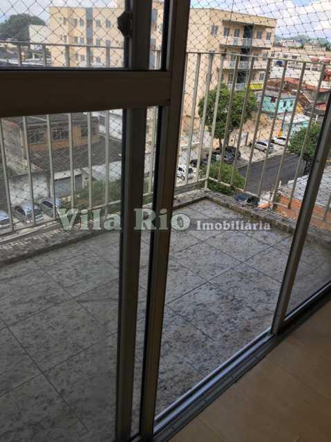 VARANDA. - Apartamento 2 quartos para alugar Vaz Lobo, Rio de Janeiro - R$ 800 - VAP20763 - 25