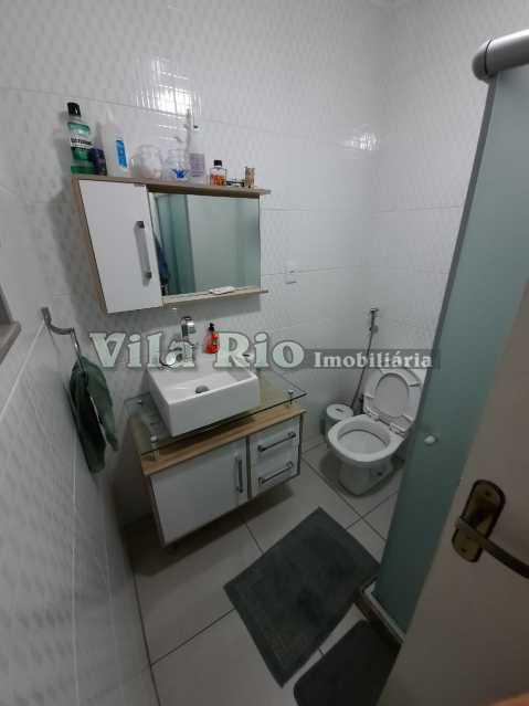 Banheiro social. - Apartamento 3 quartos à venda Penha, Rio de Janeiro - R$ 280.000 - VAP30226 - 7