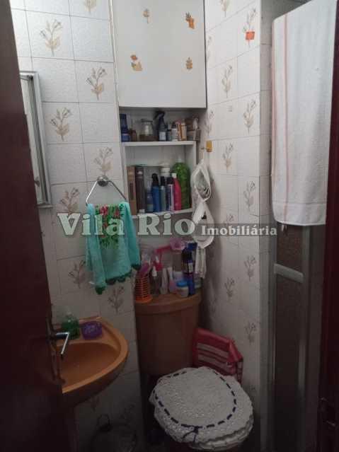 BANHEIRO. - Apartamento 1 quarto à venda Braz de Pina, Rio de Janeiro - R$ 145.000 - VAP10069 - 9