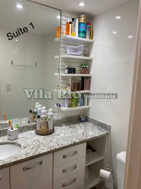BANHEIRO 1. - Cobertura 3 quartos à venda Vila da Penha, Rio de Janeiro - R$ 850.000 - VCO30022 - 13