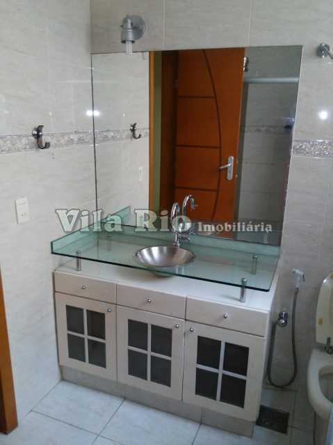 BANHEIRO 1. - Apartamento 3 quartos à venda Vila Valqueire, Rio de Janeiro - R$ 430.000 - VAP30228 - 13