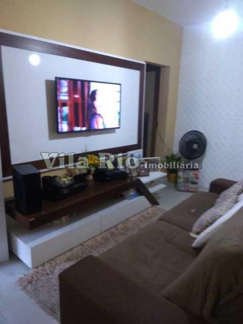 SALA 1 - Apartamento 2 quartos à venda Cordovil, Rio de Janeiro - R$ 245.000 - VAP20771 - 1