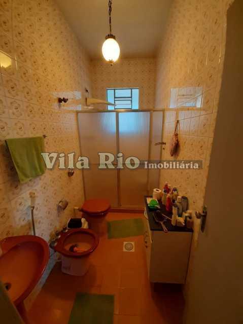 BANHEIRO SOCIAL - Casa 3 quartos à venda Braz de Pina, Rio de Janeiro - R$ 580.000 - VCA30089 - 10