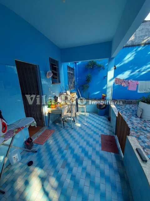 AREA DE SERVIÇO - Casa 3 quartos à venda Braz de Pina, Rio de Janeiro - R$ 580.000 - VCA30089 - 14