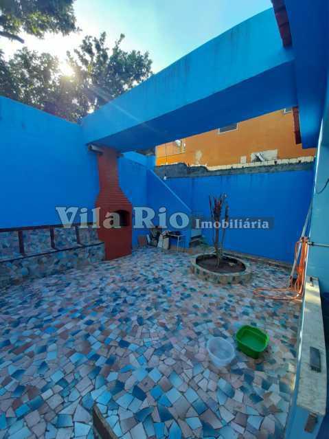 AREA EXTERNA FUNDOS 5 - Casa 3 quartos à venda Braz de Pina, Rio de Janeiro - R$ 580.000 - VCA30089 - 18