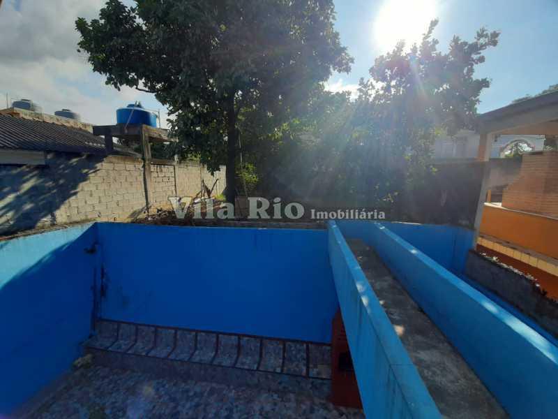 AREA EXTERNA FUNDOS - Casa 3 quartos à venda Braz de Pina, Rio de Janeiro - R$ 580.000 - VCA30089 - 19